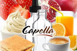 Концентрация ароматизаторов Capella с официального сайта
