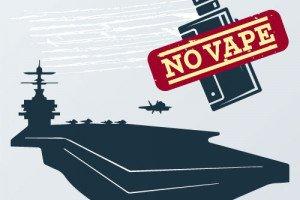 Морской Центр Безопасности запрещает вейп на кораблях и самолётах