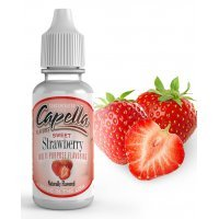 Ароматизатор Capella Сладкая Клубника (Sweet Strawberry)