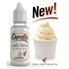 Ароматизатор Capella Ванильный Заварной Крем v2 (Vanilla Custard v2)